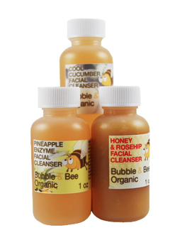 Bubble and Bee Organic Facial Cleanser Trial Pack Review