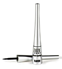 REVIEW   ZuZu Luxe Liquid Eyeliner - The Glamorganic Goddess