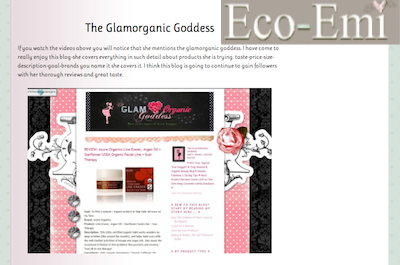 Eco-Emi Site We Love Glamoragnic Goddess