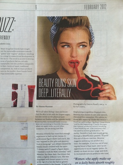 FIT W27 Magazine Feb 2012 Green Clean BEauty