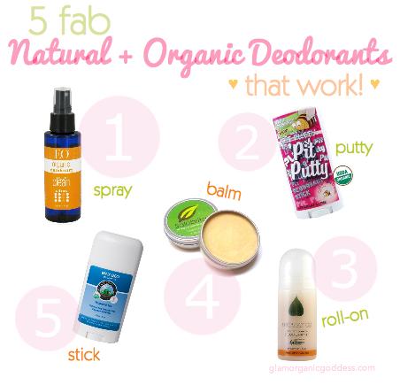 Best Natural + Organic Deodorants That WORK!