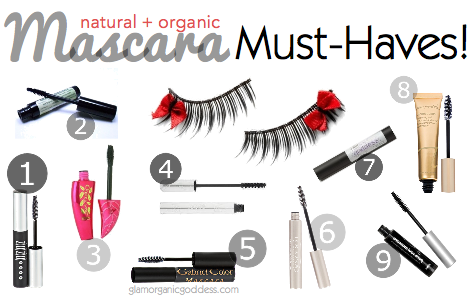 9 Natural + Organic Must-Have Mascaras