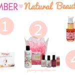 Natural Beauty Faves | SEPTEMBER