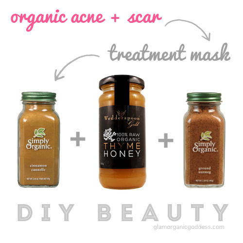 Organic Acne Scar Treatment Mask Spot Treatment