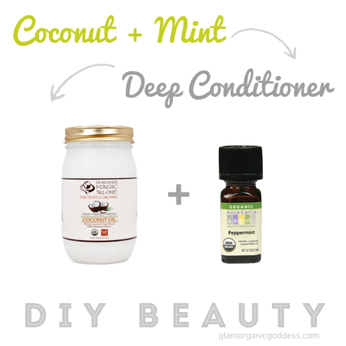 Organic Coconut + Mint Deep Conditioner