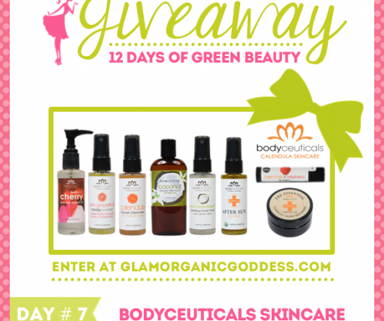 12 Days Green Beauty Giveaway Bodyceuticals