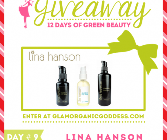 12 Days Green Beauty Giveaway Lina Hanson