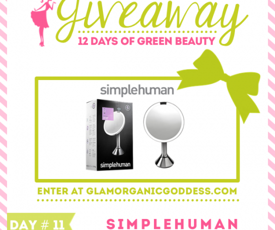 12 Days Green Beauty Giveaway SimpleHuman