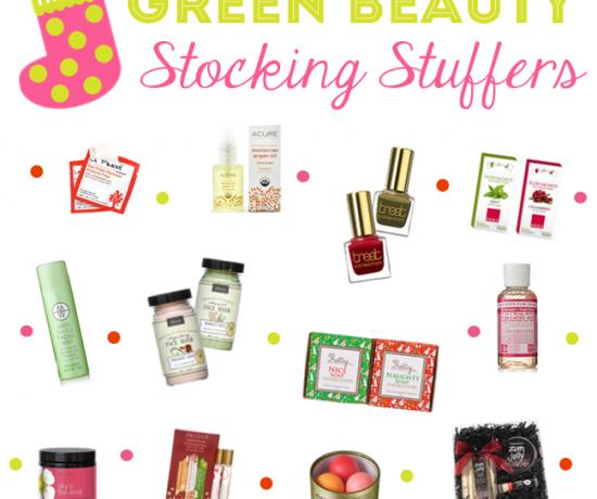 Green Beauty Stocking Stuffers