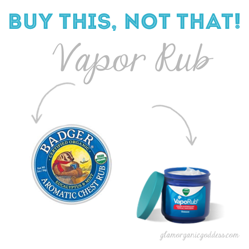 Buy This Not That Natural Organic Vapor Rub
