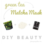 DIY BEAUTY | Matcha Mask