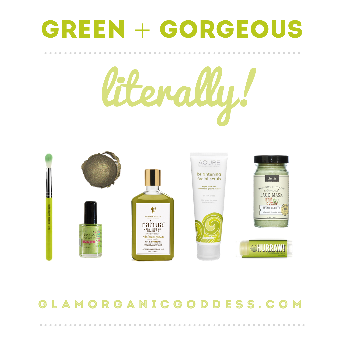 Green Gorgeous St Patty S Day Beauty Inspo The