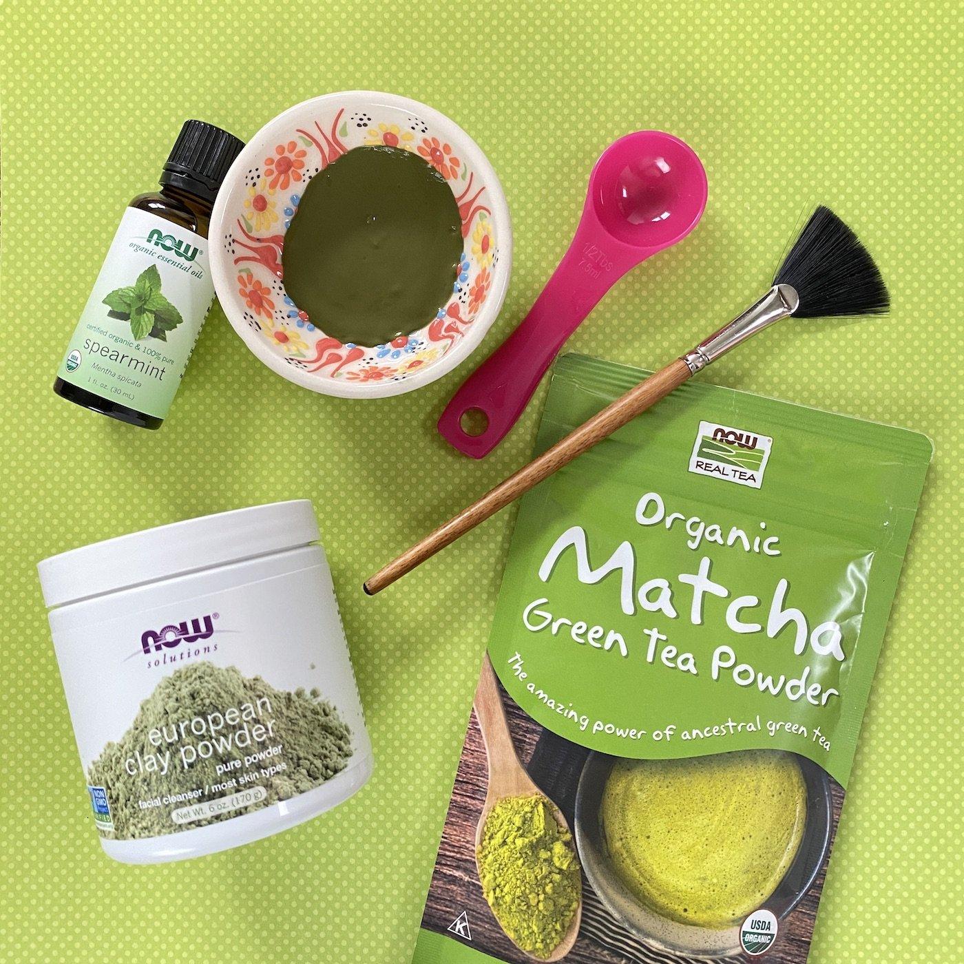 DIY-Organic-Matcha-Mint-Facial-Masks