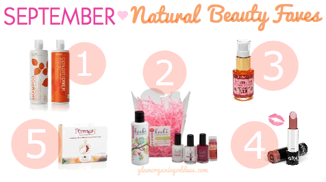 September Natural Beauty Faves