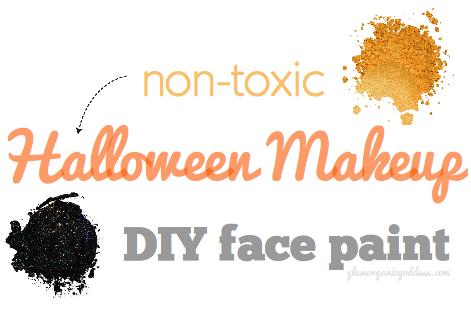 DIY Beauty | Halloween Makeup + Non-Toxic Face Paint