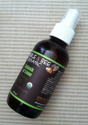 Bubble and Bee Organic Toning Mist Review
