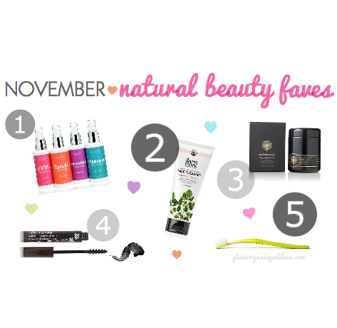 Nov Natural Beauty Faves