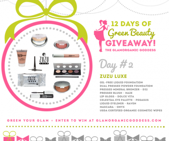 Green Beauty Giveaway ZUZU LUXE Day2