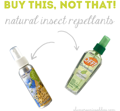 Buy This Not That Natural Organic DEETfree Insect Repellants