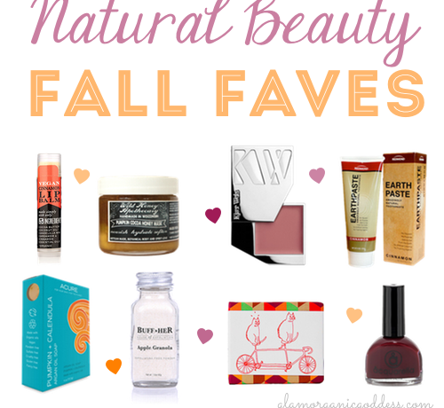 Fall Natural Beauty Faves Best Green Beauty Products