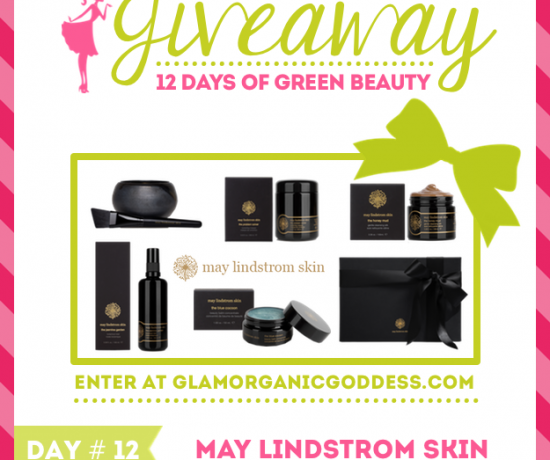 12 Days Green beauty Giveaway May Lindstrom Skin
