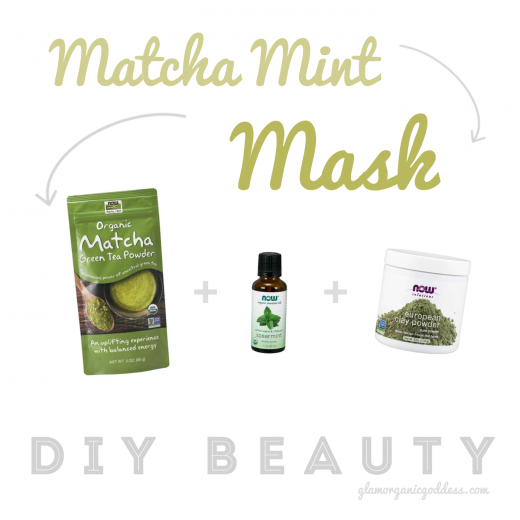 DIY Beauty Matcha Mint Mask NOW Foods
